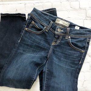 BKE Addison Dark Wash Straight Leg Jeans